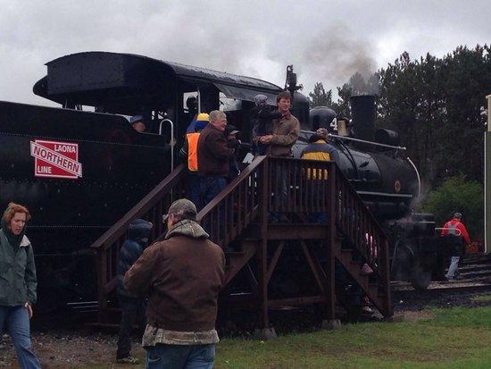 Lumberjack Steam Train: Steam train