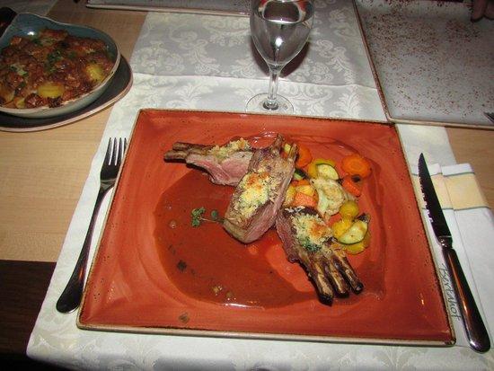 Bertahof Restaurant: Lammkarree