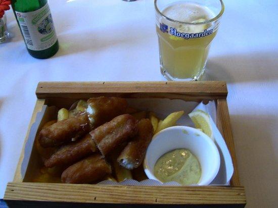 fish and chips bild fr n restaurant havfruen k penhamn tripadvisor. Black Bedroom Furniture Sets. Home Design Ideas