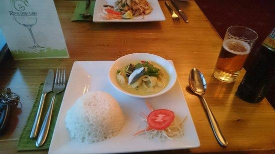 Royal Green Curry Restaurant: Thai Green Curry