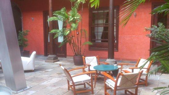 Hotel San Roque : le hall