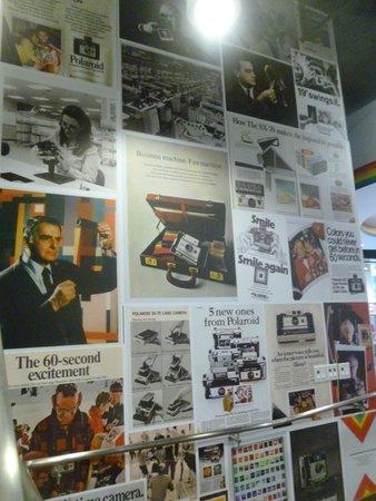 Polaroid Fotobar and Museum: Advertisements