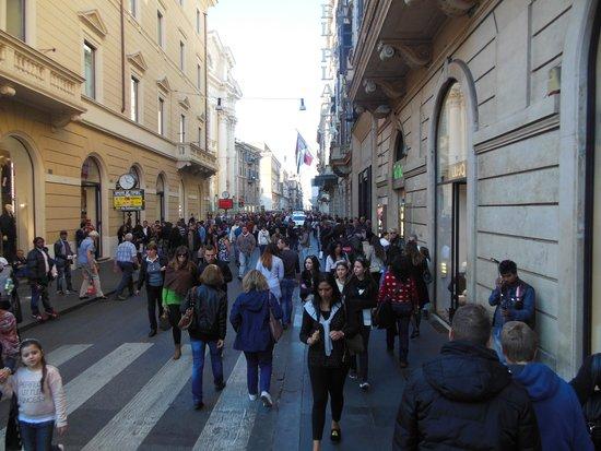 Hotel Del Corso: Via del Corso