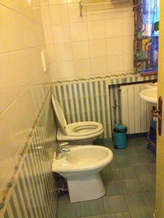 Piccolo Hotel Chianti: Il bagno.