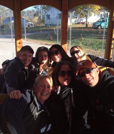Miami County Trolley: Vanessa's Birthday Bunch!