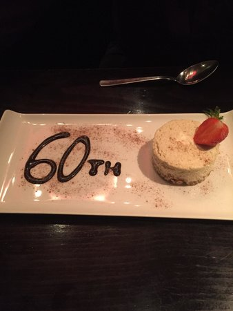 Amarone Glasgow: Hubby's birthday surprise/joke it was his 30th hehe!