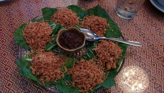 Thai Taste Restaurant: Miang kham