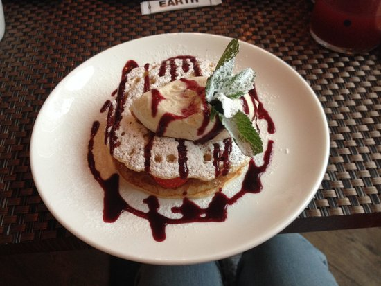 Amsterdam Canal Hotel : My pancakes