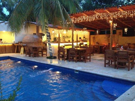 Nuestro restuarnte y alberca picture of restaurante san for Alberca restaurante