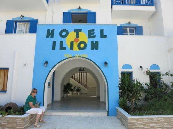 Ilion Hotel: Beautiful Entry