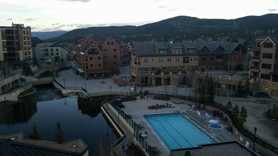 Marriott's Mountain Valley Lodge at Breckenridge: From our balcony