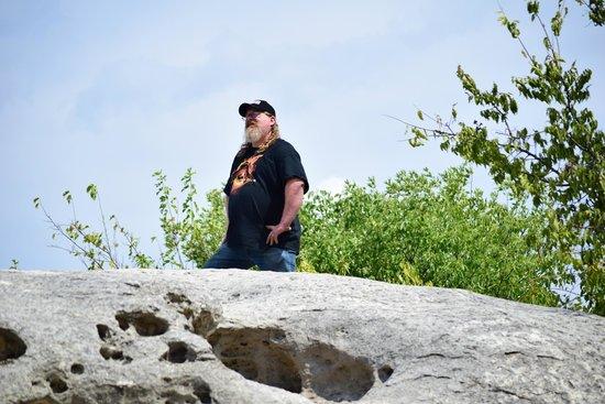 Big Rocks Park: up top observing