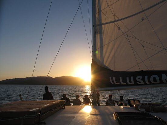 Illusions Whitsundays: Sunset cruises too