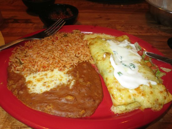 Chimichanga Review Of Carlos O Kelly S Mexican Cafe Stafford Va Tripadvisor