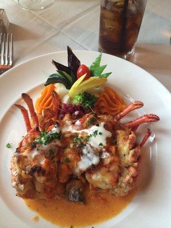 Restaurant Bouchard: Stuffed Lobster! A must!