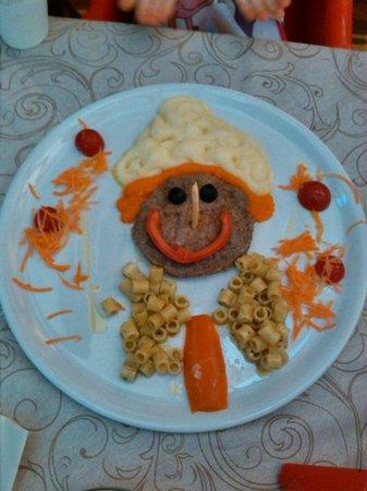 Osteria del Gambero Rosso: piatto pinocchio