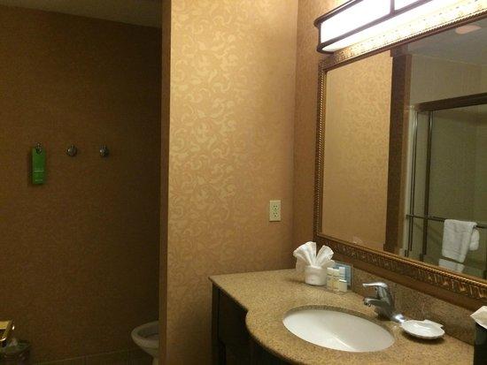 Hampton Inn & Suites Wellington: Baño