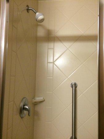 Hampton Inn & Suites Wellington: Buena Ducha funcionando perfectamente