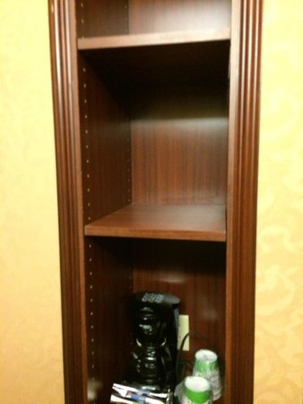 Hampton Inn & Suites Wellington: Para guardar cosas