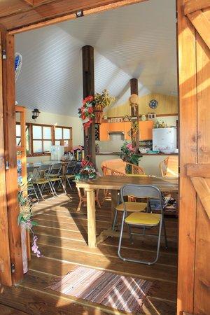 Hakamanu Lodge: Site de la pension