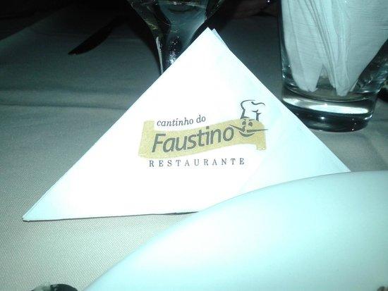 Cantinho do Faustino : Jantar excelente