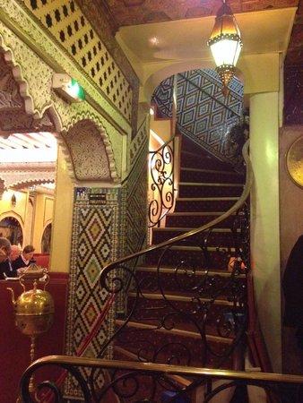 Restaurant Le Maroc : Interior view - 2 floors of dining