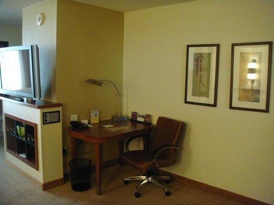 Hyatt Place Oklahoma City Airport: Corner desk