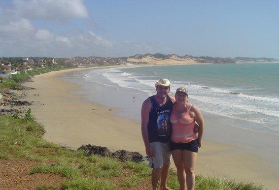 Cotovelo Beach: curtindo a praia