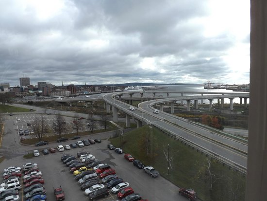 Holiday Inn Express & Suites - Saint John : The view from room 712.