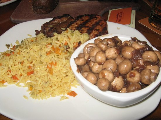 pork loin rice and shrooms picture of outback steakhouse murfreesboro tripadvisor pork loin rice and shrooms picture of