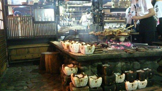 Irori Sanzoku : 山賊 玖珂店