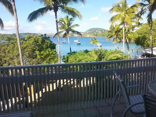 Secret Harbour Beach Resort : Our view of paradise !