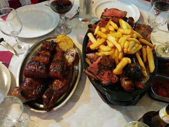 La Rueda: Parrillada +  2 churrascos