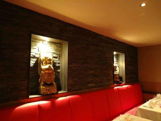 chinees specialiteit rest de chinese muur interieur