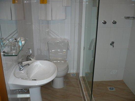 Winner Inn: 洗面、トイレ、シャワー