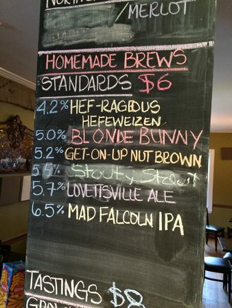 Mad Horse Brew Pub: Beer Selection