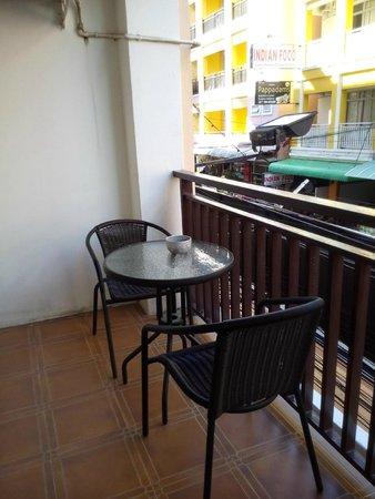 Arya Boutique Room : Balcony