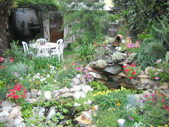 Estanque con peces en el jardin una caricia para la for Estanques de jardin con cascadas para peces