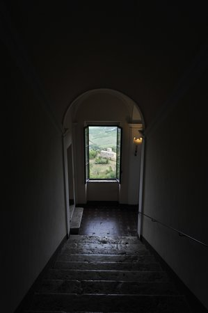 Palazzo Carletti : The view from the staircase headed out of the Hotel. Took our breath away every time.