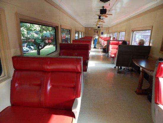 Blue Ridge Scenic Railway: Our car
