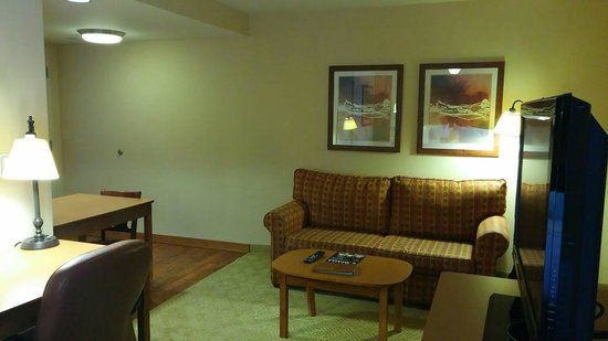 Homewood Suites Omaha Downtown: sala