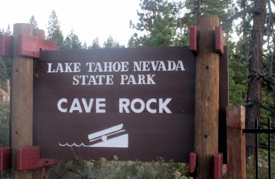 Glenbrook, NV: Cave Rock State Park, Lake Tahoe, Nevada