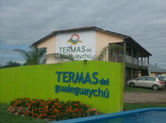 Termas del Gualeguaychú: muy bellas
