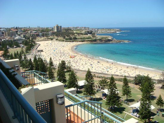 Crowne Plaza Hotel Coogee Beach Sydney North View From Our Room