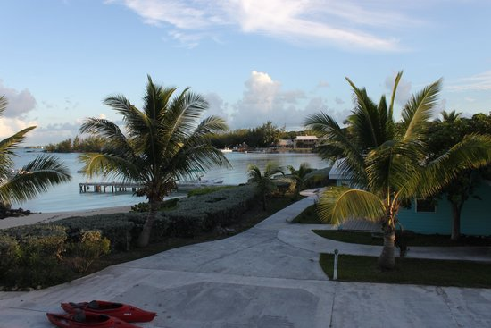 Hideaways at Palm Bay: View from balcony of #37