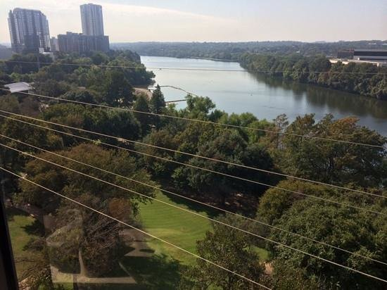Four Seasons Hotel Austin: view from our room