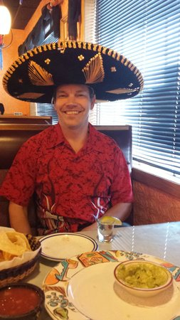 El Perico: Birthday boy got to wear the hat!