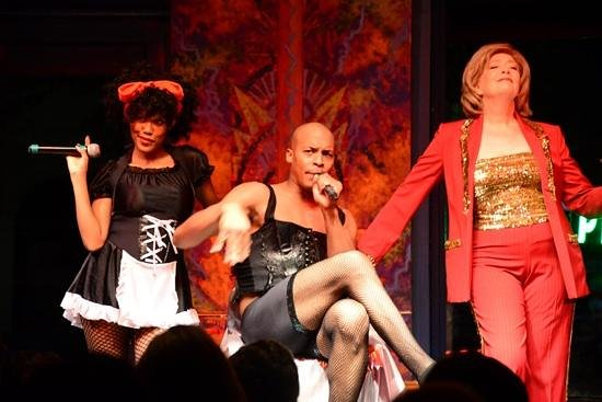 Esther's Follies: part of the show!