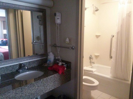 bathroom picture of holiday inn baton rouge south hotel baton rouge