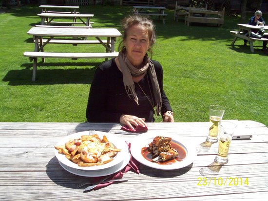 Cardrona Hotel: Our meal